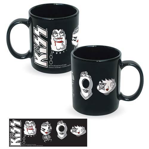 Family Guy KISS Characters Ceramic Mug