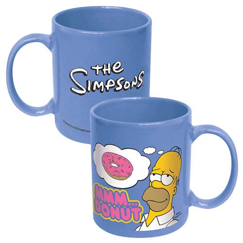 The Simpsons Homer Mmm Donuts Coffee Mug