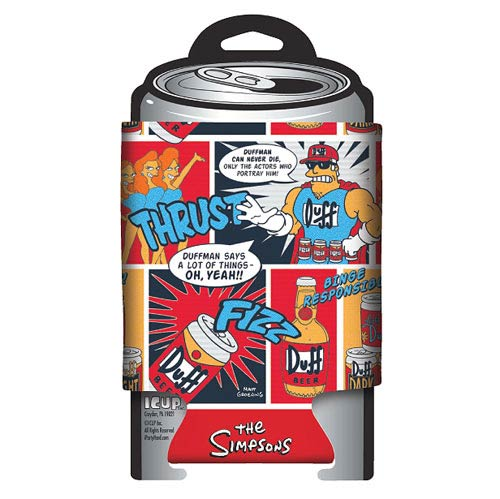The Simpsons Duffman Can Hugger