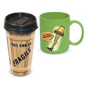 A Christmas Story Travel Mug and Ceramic Mug 2-Pack