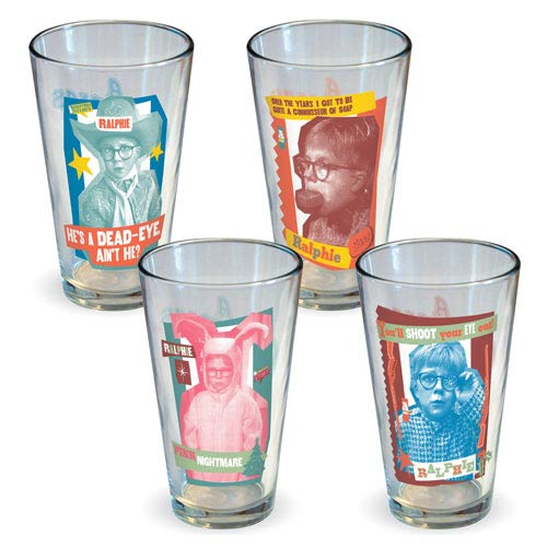 A Christmas Story Ralphie Pint Glass 4-Pack