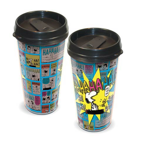 Peanuts Snoopy HaHa Travel Mug