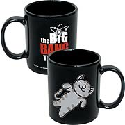 Big Bang Theory Soft Kitty Black Coffee Mug