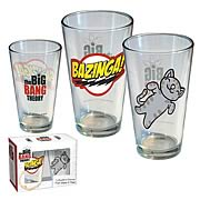 Big Bang Theory Pint Glasses 2-Pack