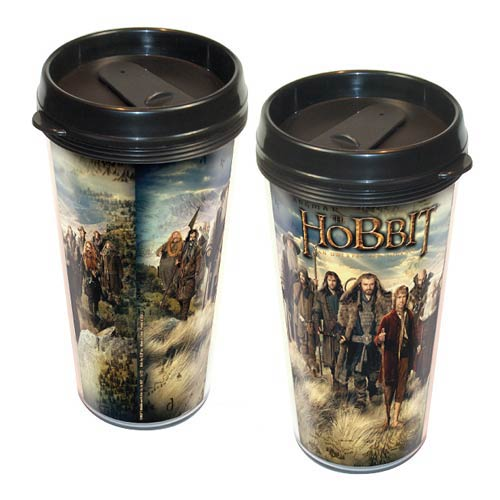 The Hobbit An Unexpected Journey Cast Travel Mug