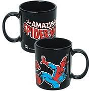Spider-Man Marvel Black Coffee Mug