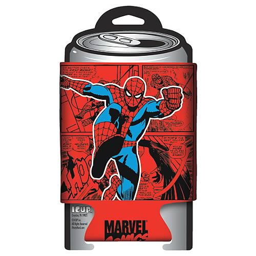 Spider-Man Marvel Retro Comic Wrap Can Hugger