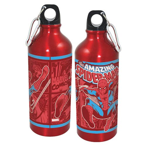 Spider-Man Collage Aluminum Water Bottle