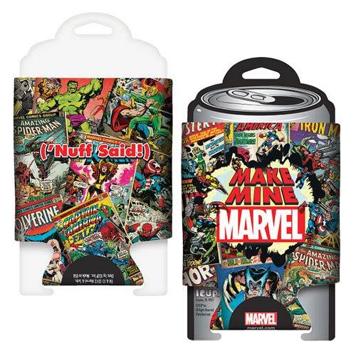 Marvel Make Mine Marvel Collage Can Hugger