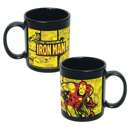 Invicible Iron Man Marvel Comics Wrap Ceramic Mug