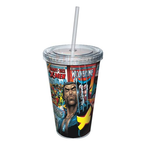 Wolverine Comic Covers Wrap Acrylic Travel Cup