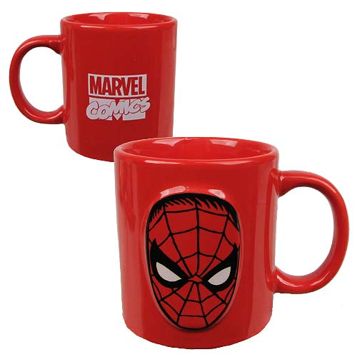 Spider-Man 20 oz. Marvel Comics Embossed Mug