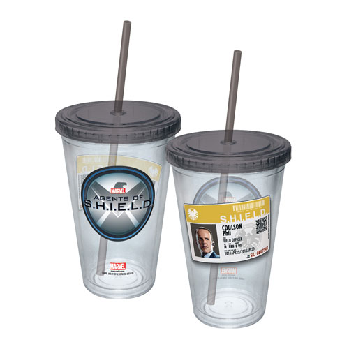 Agents of SHIELD Agent Coulson Badge Travel Cup