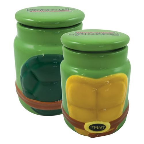 Tmnt Molded Character Ceramic Apothecary Jar