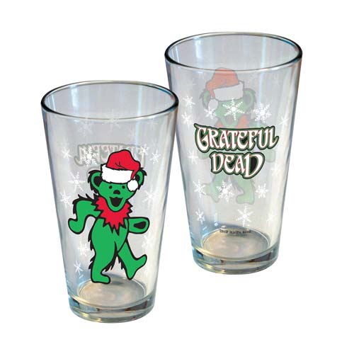 Grateful Dead Limited Edition Christmas Pint Glass