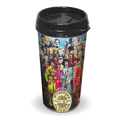 Beatles Sgt. Peppers Lonely Hearts Club Band Travel Mug