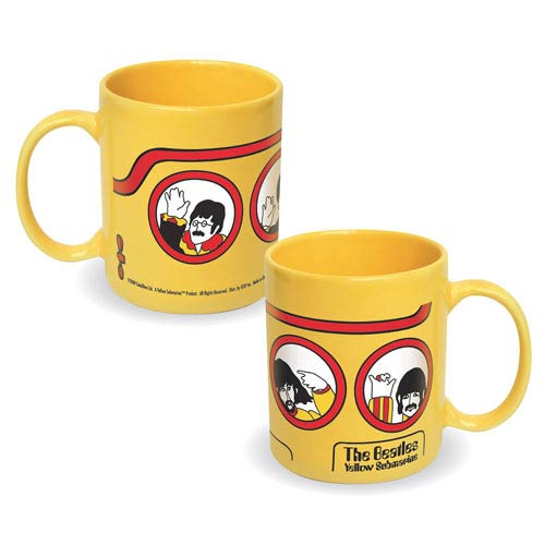 Beatles Yellow Submarine Ceramic Mug
