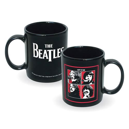 Beatles Let It Be Album Cover Ceramic Mug
