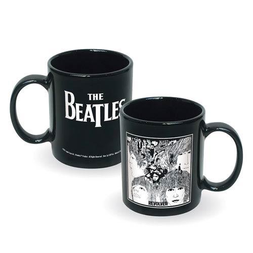 Beatles Revolver Album Cover Ceramic Mug