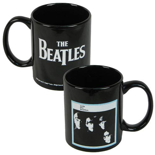 Beatles With the Beatles Album Cover Ceramic Mug
