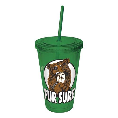 Workaholics Fur Sure Colored Acrylic Travel Cup