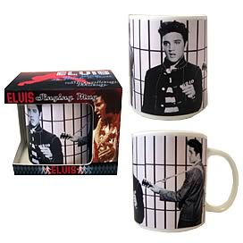 Elvis Presley Jailhouse Rock Singing Mug