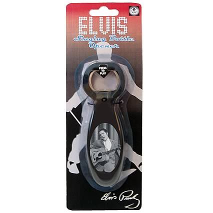 Elvis Presley Hound Dog Singing Bottle Opener