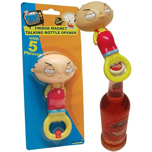 Family Guy Stewie 3D Hand Held Fridge Magnet