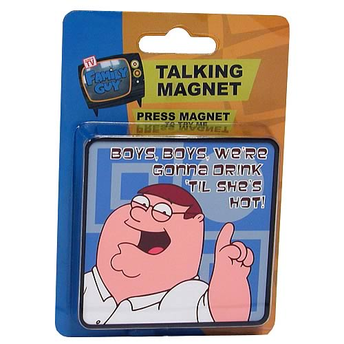 Family Guy Peter Talking Magnet