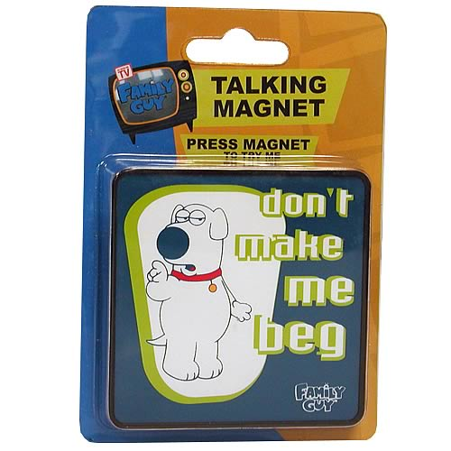 Family Guy Brian Talking Magnet