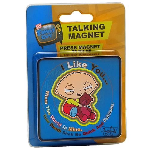 Family Guy Quick and Painless Talking Magnet