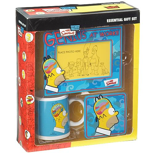 Simpsons Homer's Brain Gift Set