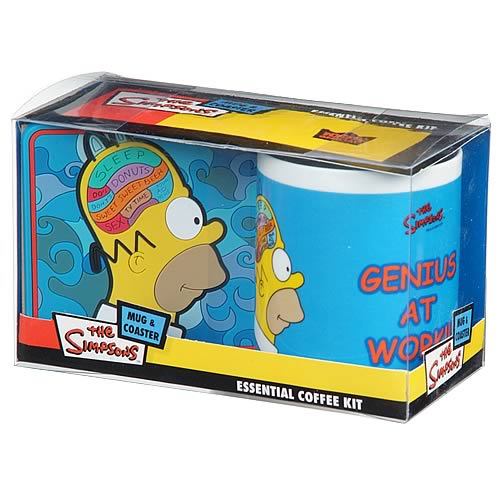 Simpsons Homer's Brain Coffee Kit
