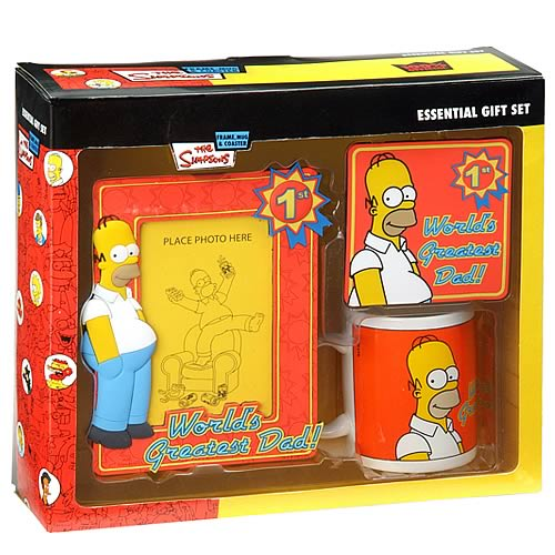 Simpsons World's Greatest Dad Gift Set