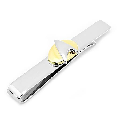 Star Trek Two Tone Delta Shield Tie Bar