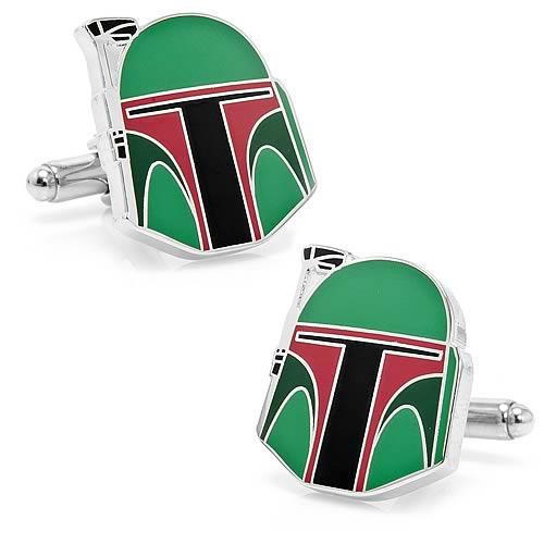 Star Wars Boba Fett Helmet Cufflinks