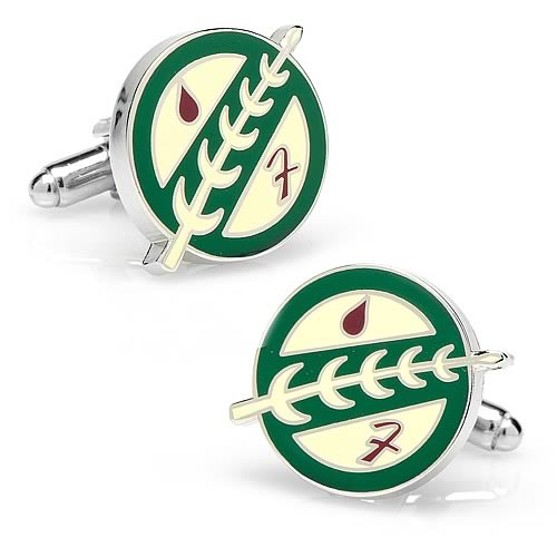 Star Wars Boba Fett Bounty Hunter Symbol Cufflinks