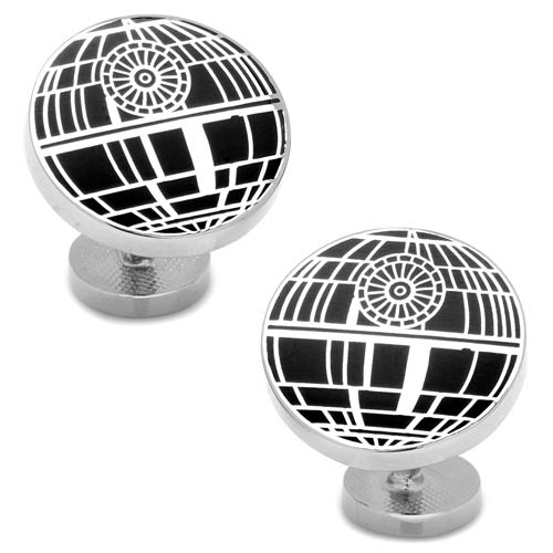 Star Wars Recessed Matte Death Star Cufflinks