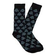 Star Wars Darth Vader Helmet Black Socks