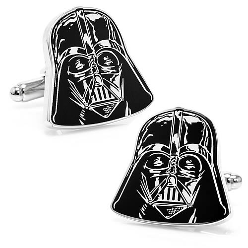 Star Wars Darth Vader Head Cufflinks