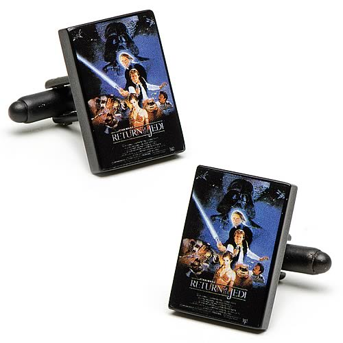 Star Wars Return of the Jedi Movie Poster Cufflinks