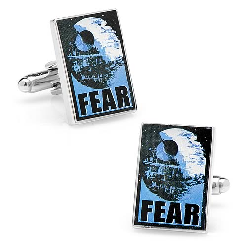 Star Wars Fear Propaganda Poster Cufflinks