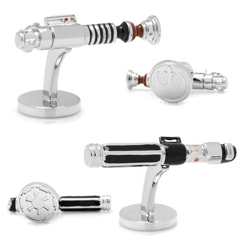 Star Wars Luke Skywalker vs Darth Vader Lightsaber Cufflinks