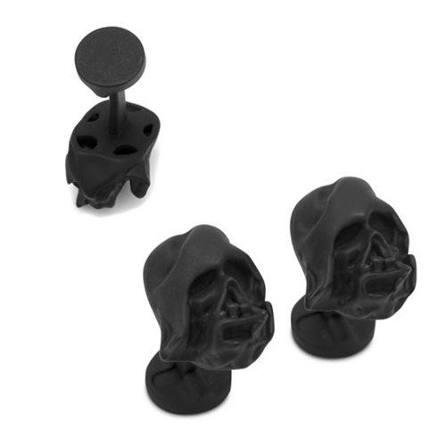 Star Wars Darth Vader Melted Helmet 3D Cufflinks