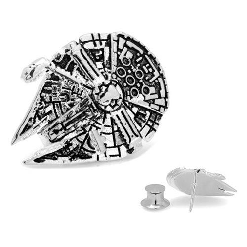 Star Wars Millennium Falcon 3D Lapel Pin
