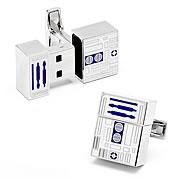 Star Wars R2-D2 4 GB USB Flash Drive Cufflinks