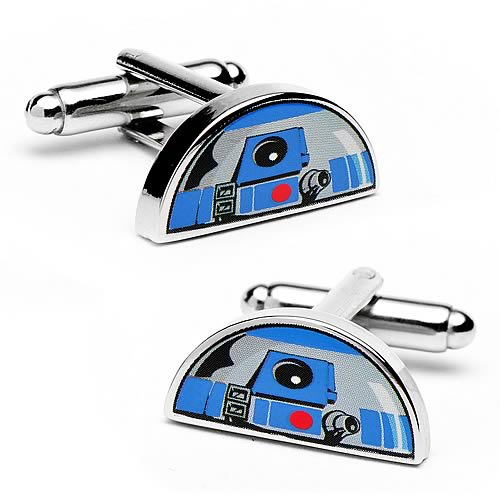 Star Wars R2-D2 Dome Cufflinks