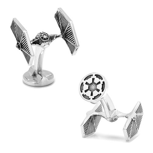Star Wars TIE Fighter 3D Cufflinks