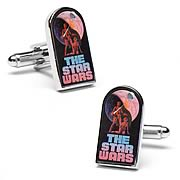 Star Wars A New Hope Classic Movie Poster Cufflinks