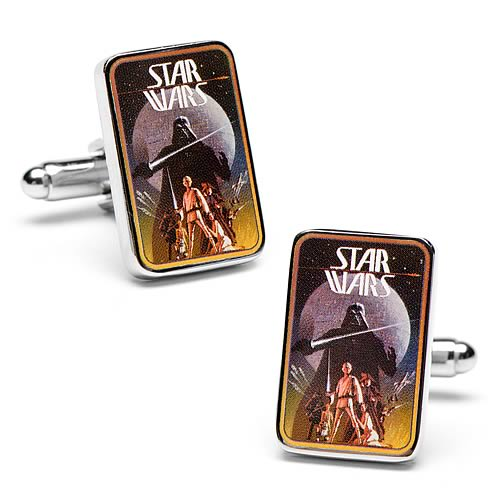 Star Wars A New Hope Vintage Movie Poster Cufflinks